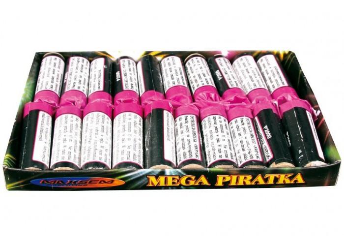 Петарди Mega Piratka P2000 Maxsem 20шт