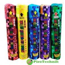Набір кольорового диму ДК125-60 Агенція свято ( 5 кольорів ) 60 с.