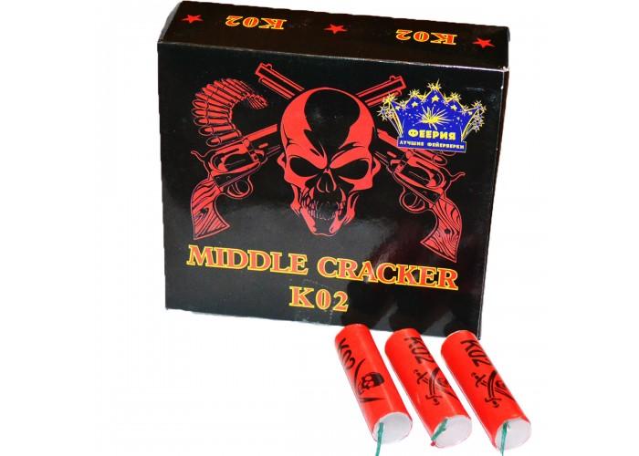 Петарди Феєрія Middle Cracker K02 30шт