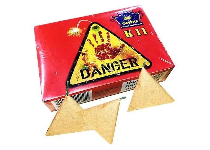 Петарди К11 Danger 20шт