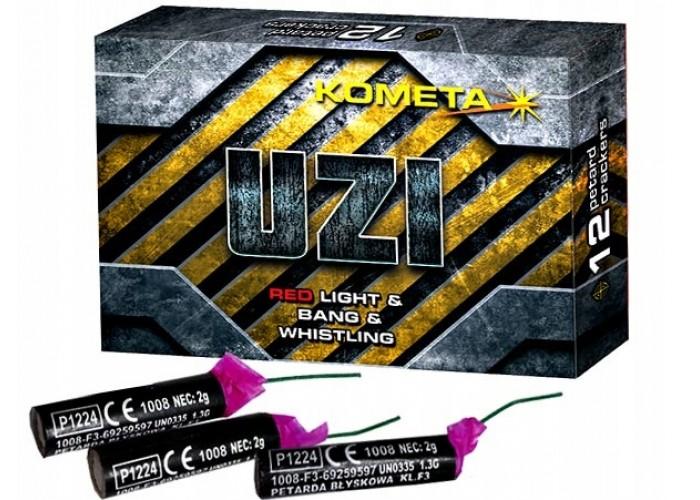 Петарди Kometa Uzi P1224 12 шт