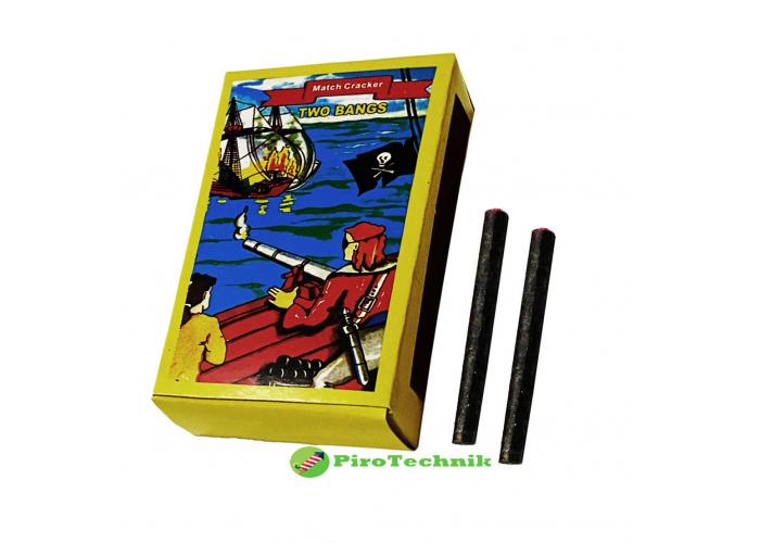 Петарди Maxsem Match Cracker K0201-2 Two Bangs 60 шт.