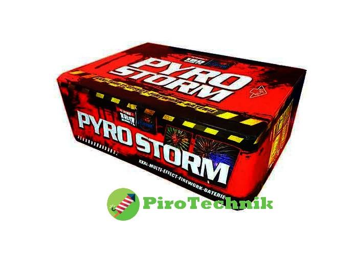 Салют Pyro Storm FC180MK-1 калібр 20-30 мм, 180 зарядів