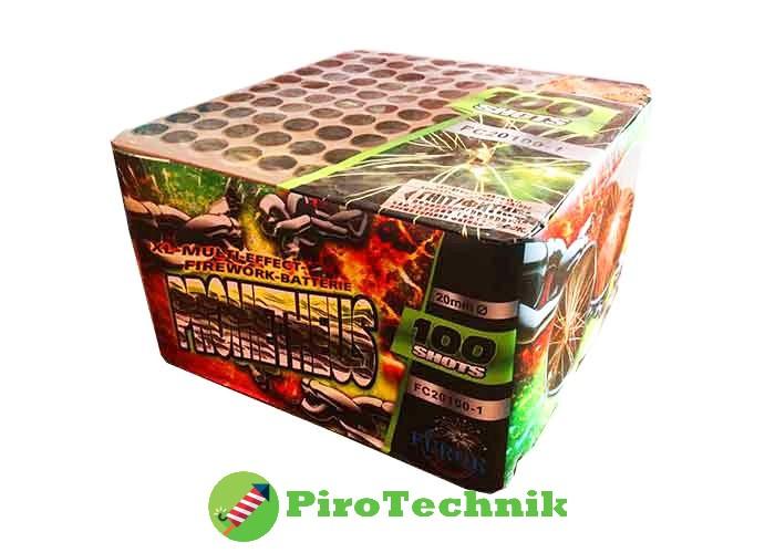 Салют Prometheus FC20100-1, калібр 20 мм, 100 зарядів