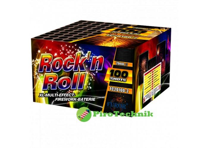Салют Rock'n Roll FC20100-2, калібр 20 мм, 100 зарядів