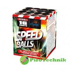 Салют Speed Balls FC2016-1, калібр 20 мм, 16 зарядів