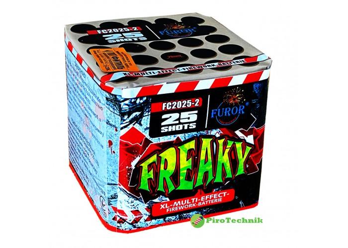 Салют Freaky FC2025-2, калібр 20мм, 25 зарядів