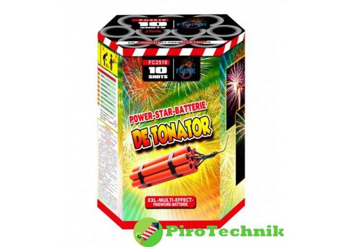 Салют Detonator FC2510, калібр 25 мм, 10 зарядів