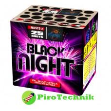 Салют Black Night FC2525-2, калібр 25мм, 25 зарядів