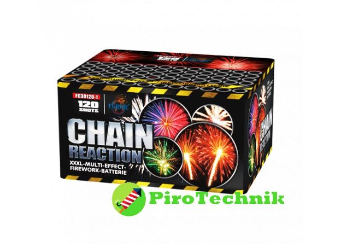 Салют Chain Reaction FC30120-1, калібр 30 мм, 120 зарядів
