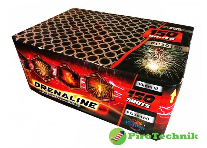 Салют Adrenaline FC30150, калібр 30 мм, 150 зарядів