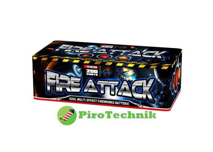 Салют Fire Attack FC30200, калібр 30 мм, 200 зарядів
