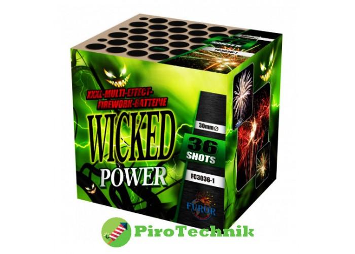 Салют Wicked Power FC3036-1 калібр 30 мм, 36 зарядів