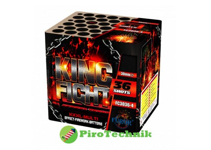 Салют King Fight FC3036-4, калібр 30 мм, 36 зарядів