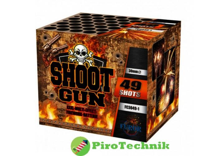 Салют Shoot Gun FC3049-1 калібр 30 мм 49 зарядів
