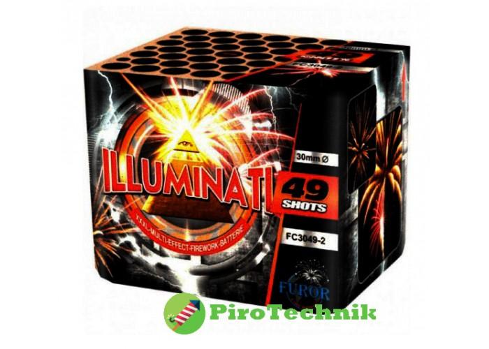 Салют Illumination FC3049-2, калібр 30 мм, 49 зарядів