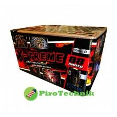 Салют X-Treme FC3088,калібр 30 мм, 88 зарядів