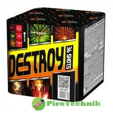Салют Destroy GP303 калібр 15мм. 36 зарядів