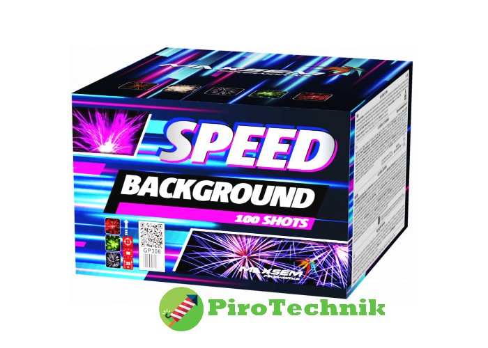 Салют Speed Background GP 306 калібр 15мм. 100 зарядів