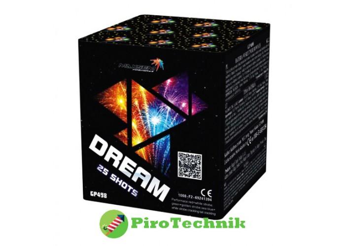 Феєрверк Dream GP498 калібр 20мм, 25 зарядів
