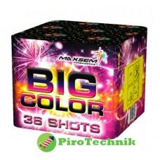 Феєрверк Big Color GP506-36 калібр 25мм, 36 зарядів