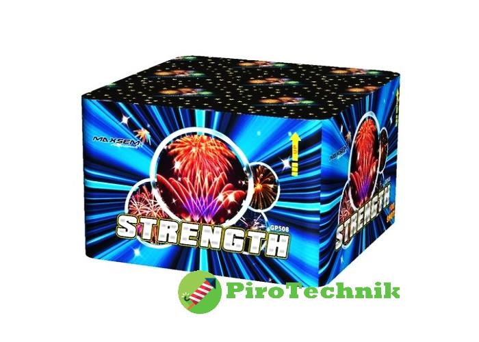 Салют Strenght GP508 калібр 25 мм, 100 зарядів