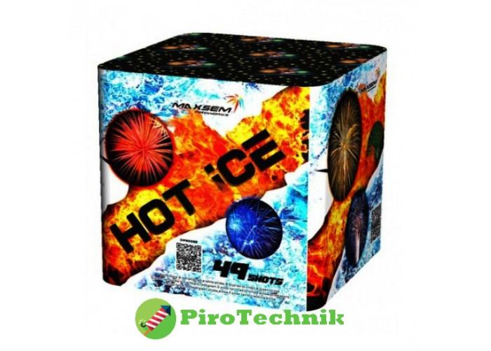 Феєрверк Hot Ice GWM5038 калібр 30мм, 49 зарядів