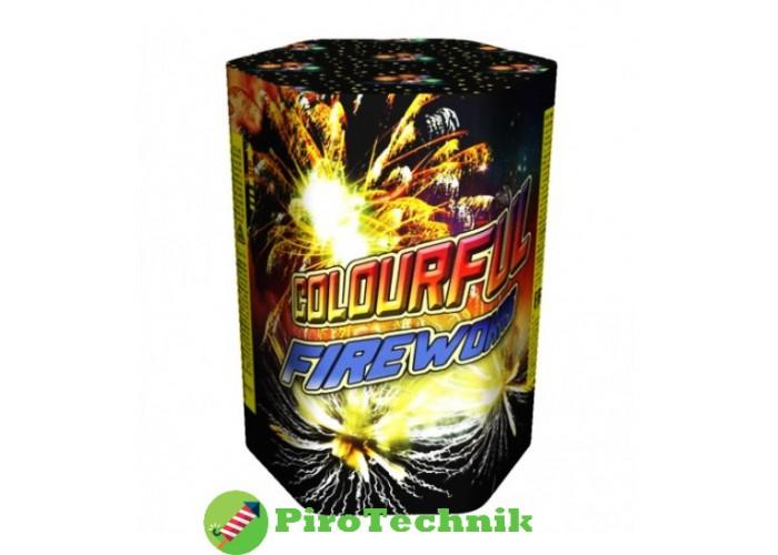 Салют  Colourful Fireworks GWM5046 калібр 25мм, 7 зарядів