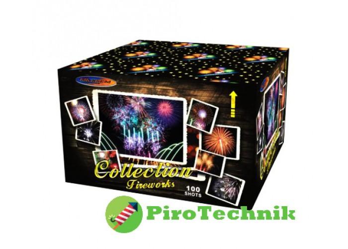 Салют Collection Fireworks GWM6102 калібр 30 мм, 100 зарядів