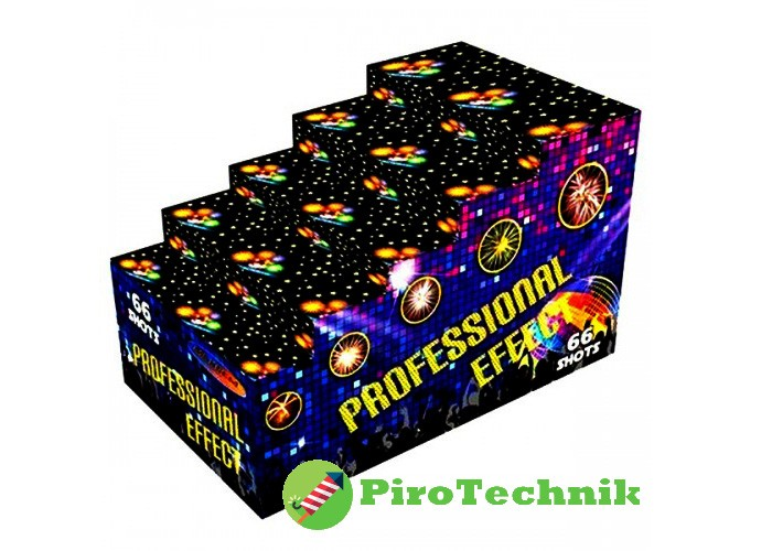Салют Professional Effects GWM6602 калібр 30мм. 66 зарядів