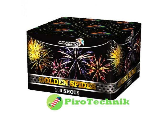 Салют Golden Spider MC114 калібр 20 мм, 100 зарядів