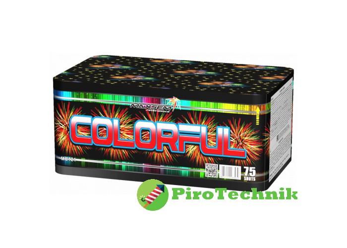Салют Colorful MC121 калібр 20-30мм 75 зарядів