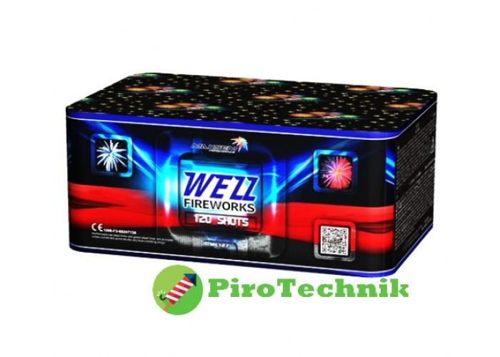 Салют Wezz MC127 калибр 20мм. 120 зарядів