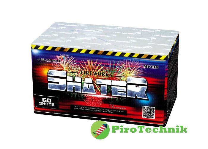 Салют Shater MC136 калібр 25 мм, 60 зарядів