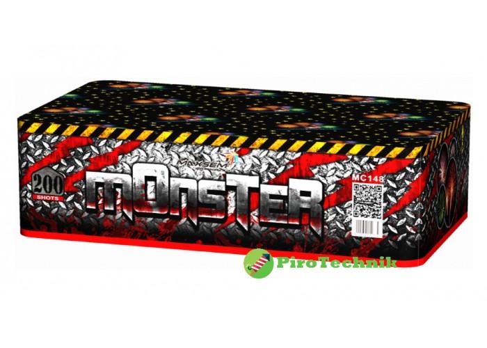 Салют Monster MC148 калібр 20 мм, 200 зарядів