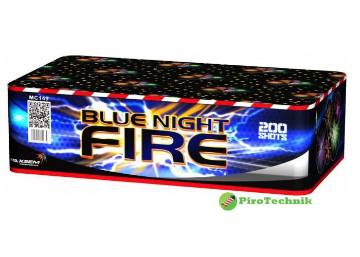 Салют Blue night fire MC149 калібр 20 мм, 200 зарядів
