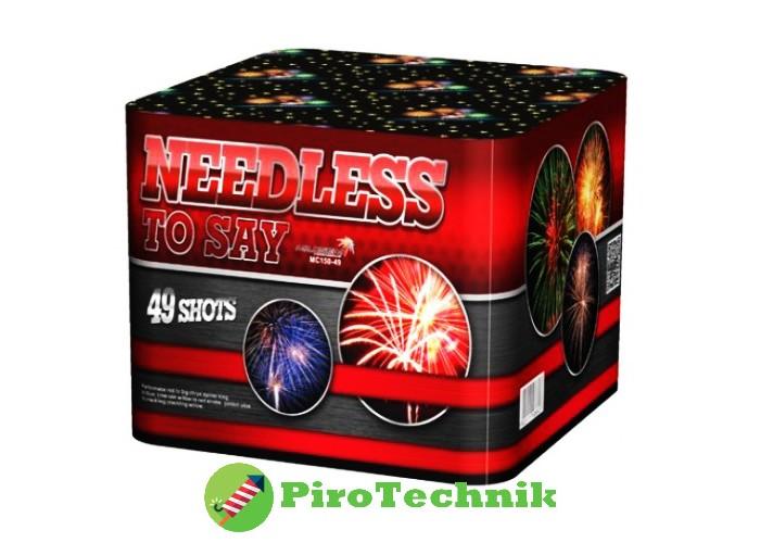 Феєрверк Needless MC150-49 калібр 40мм, 49 зарядів