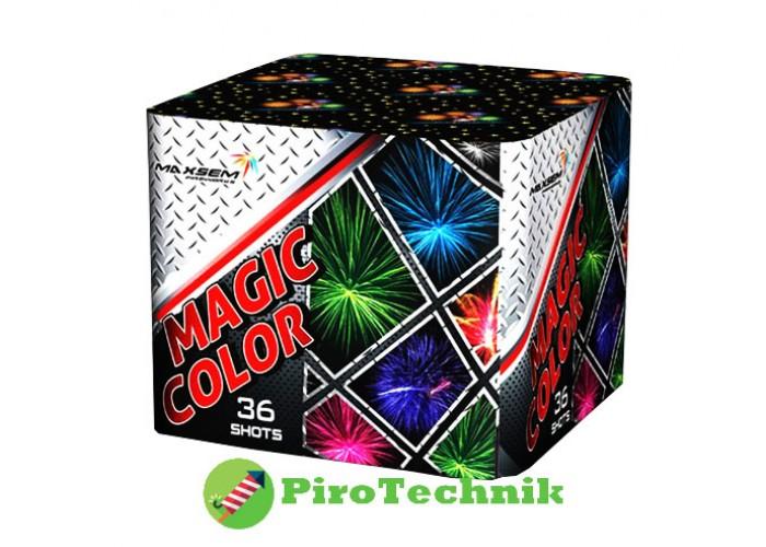 Феєрверк Magic Color MC175-36 калібр 45мм, 36 зарядів