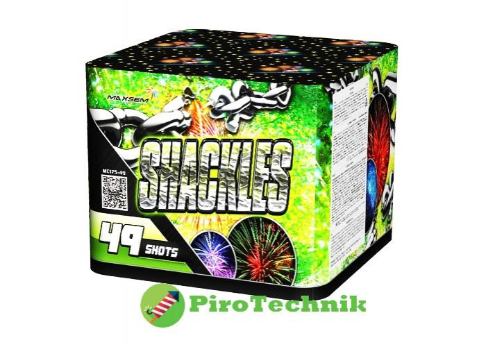 Феєрверк Shackles MC175-49 калібр 45мм, 49 зарядів