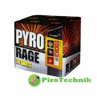 Феєрверк Pyro Rage MC200-36 калібр 50мм, 36 зарядів