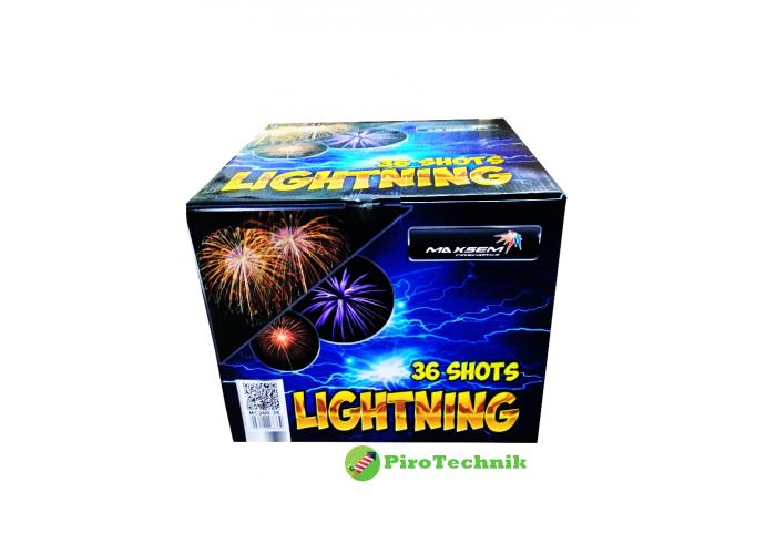 Феєрверк Lightning MC200-36 калібр 50мм, 36 зарядів