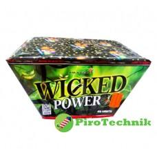 Салют Wicked Pover SB49-03V  калібр 30мм. 49 зарядів