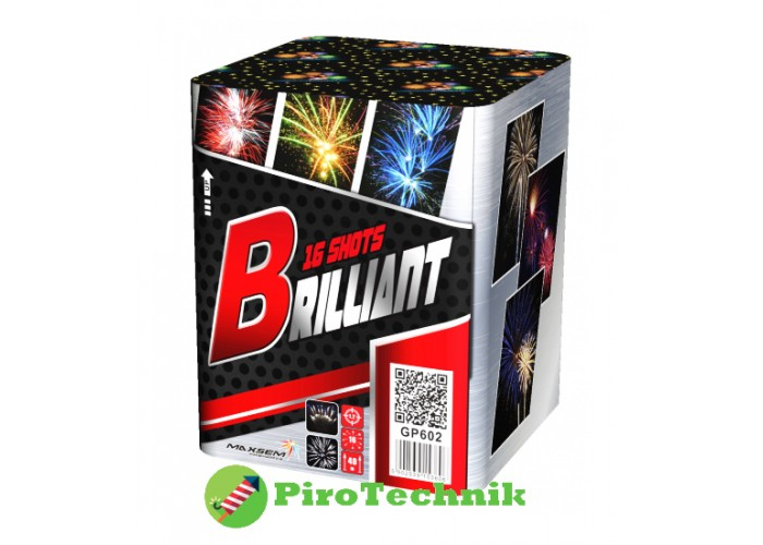 Салют Brilliant GP602 калібр 30мм 16 зарядів