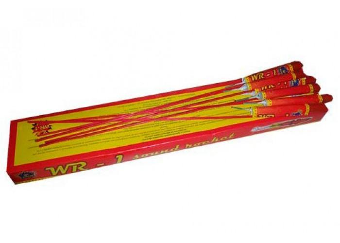 Ракети зі свистом WR-1 (тріск + мерехтіння) 24 шт