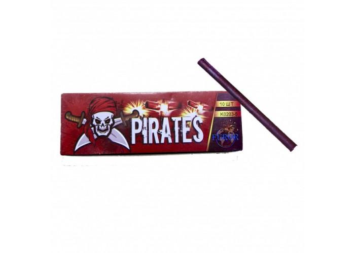 Петарди Корсар 3 Pirates Furor K0203-5 (5 пострілів) 10 шт